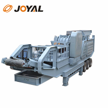 crusher 200 tons per hour stone jaw Crusher Mobile Station/portable Stone Concrete Crushing Plant