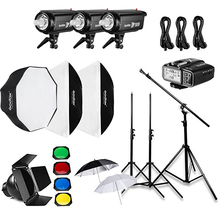 Godox DP300II 900Ws Professional Studio Strobe flash light kits godox lighting photography kit