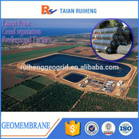 Good Quality hdpe geomembrane liner fish tank, pond geomembrane with Factory Price