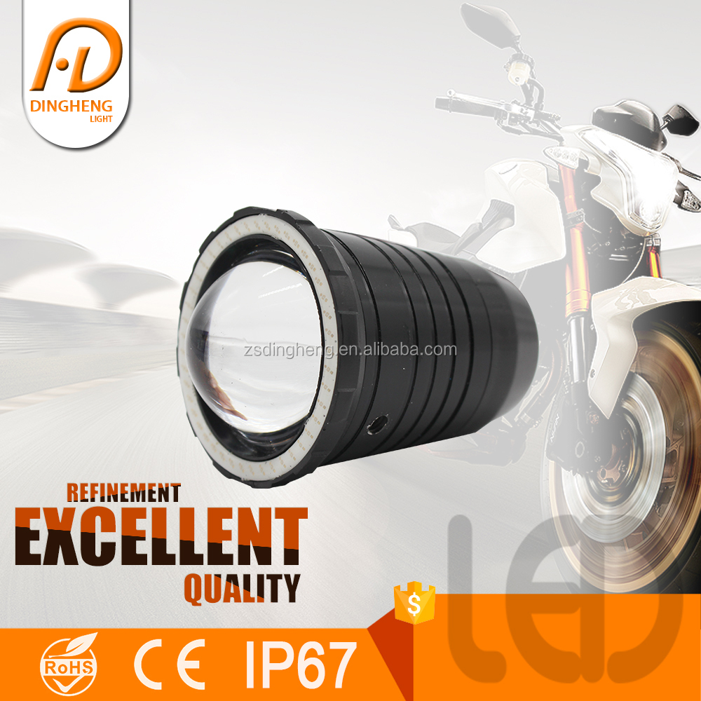 10w most powerful LED Motorcycle projector eagle eyes Headlight