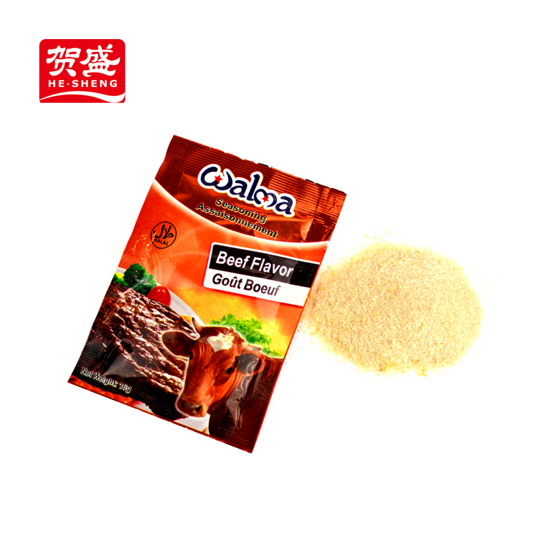 Manufacture Health food condiment seafood seasoning spices beef flavor powder