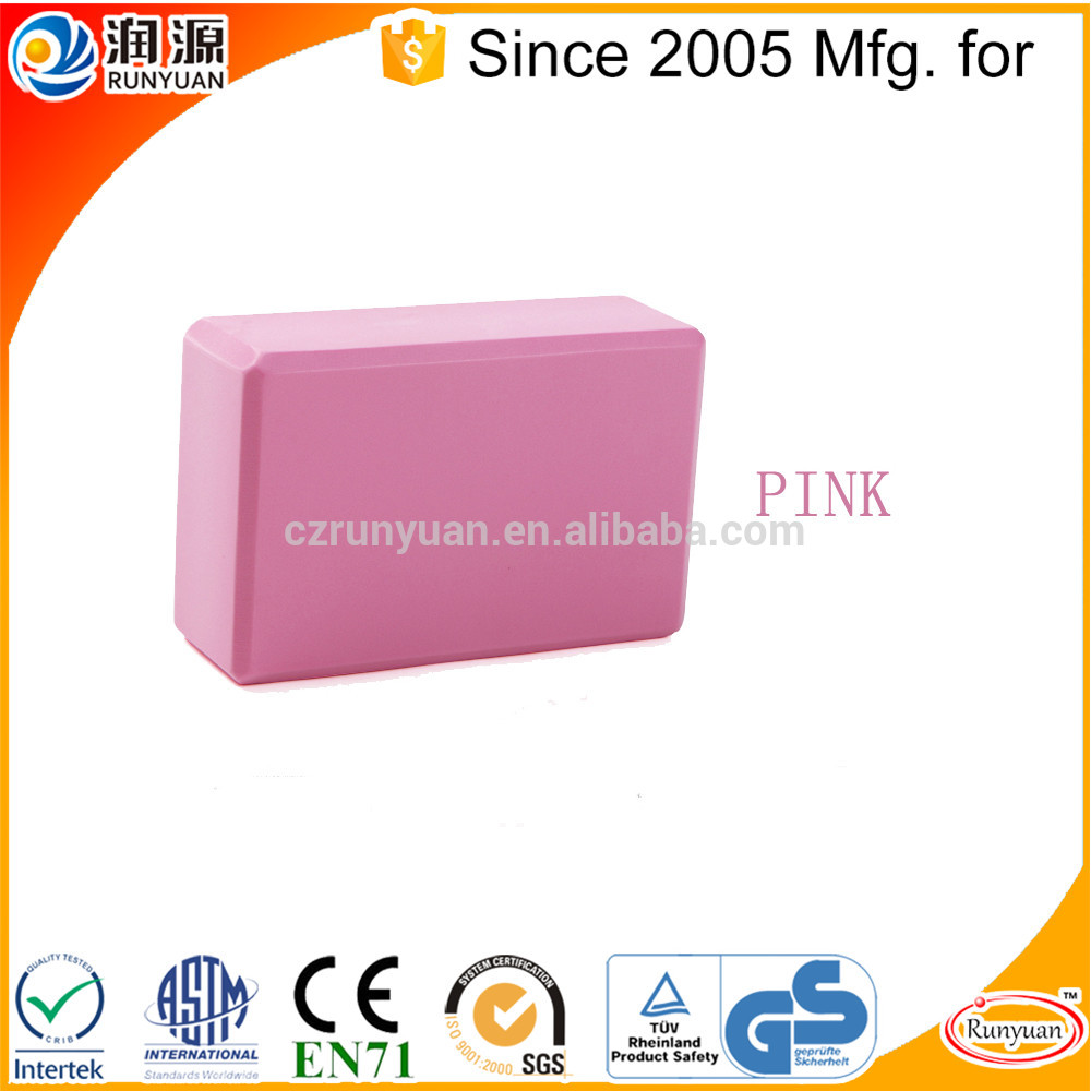 Wholesale rubber yoga block in China