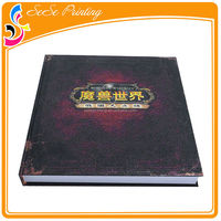 Custom my hot book offset printing cheap sewn bound book printing