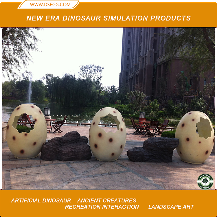 Landscape Decoration Dinosaur Egg Model