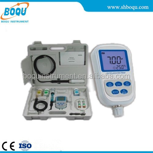 BOQU SX725 Portable pH/Dissolved Oxygen Meter (-2.00 ~ 19.99)pH/(0 ~ 20.00)mg/L(ppm)