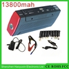 Micro USD charger 13800mah multifunction 12v jump start battery pack