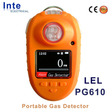 H2 CO CH4 LPG combustible gas leak monitor/detector handheld type PG610