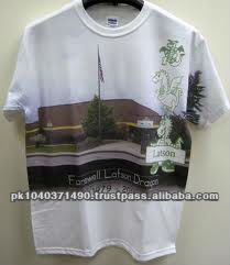 Custom House Sublimation Printed T-Shirt