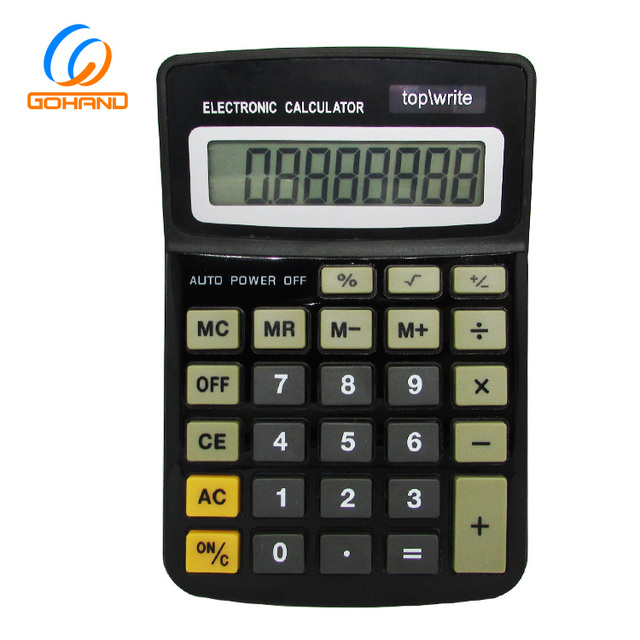 Office Gift Electronic Desktop Dual Power 8 Digit Calculator