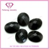 Checker Face Flat Bottom Black Onyx