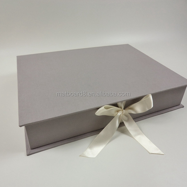 Luxury Paper photo frame box with lid photo storage box cardboard photo box