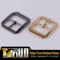 Foshan factory metal curved side release buckle