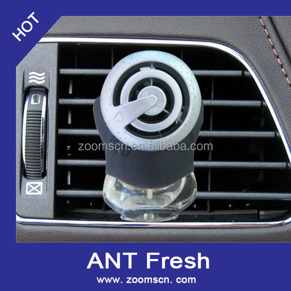 liquid type holder and refill glass bottle car perfume