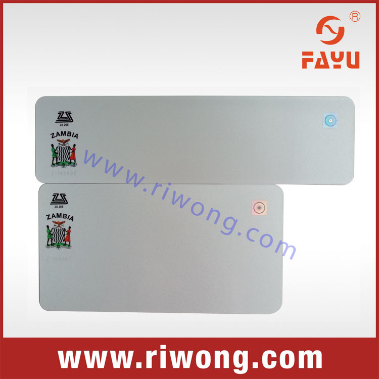 vehicle number plate with aluminum and reflective sheet for zambia,zambia number plate