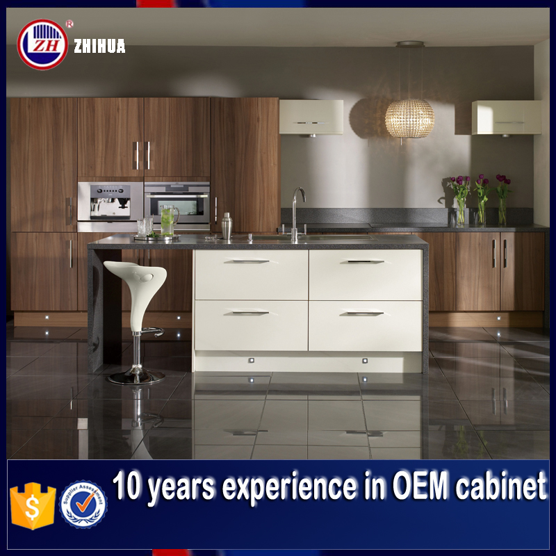 Factory ZHUV direct supply cheap kitchen cabinet
