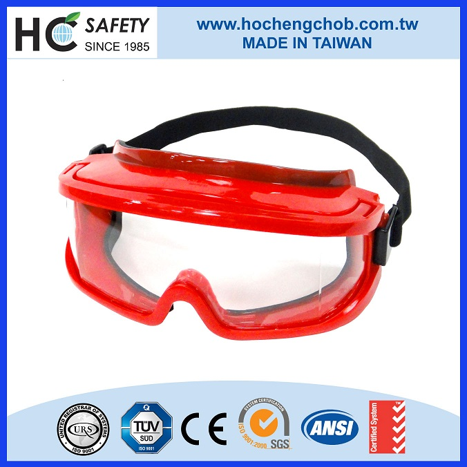 A08 ANSI CE made in Taiwan new products HO Cheng safety goggles