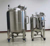 stainless steel cone bottom storage tank