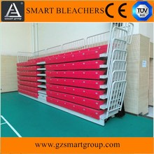 safty stainless metal structure portable bleachers /grandstand /stadium stand seating