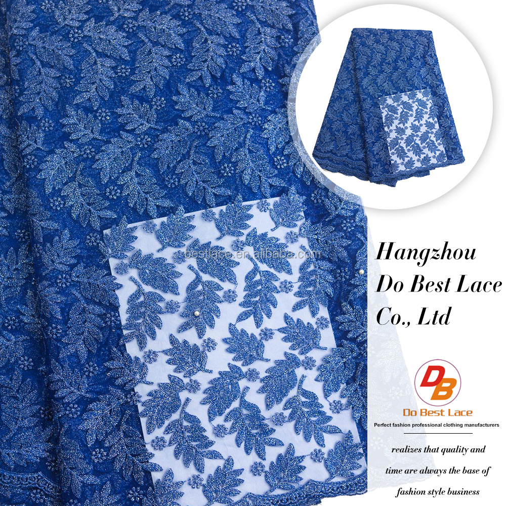 Hangzhou Best African Lace Dress Fabric For Maxi Dress Free Sample