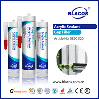 High Quality Non Toxic waterproof sealant for plastic acrylic