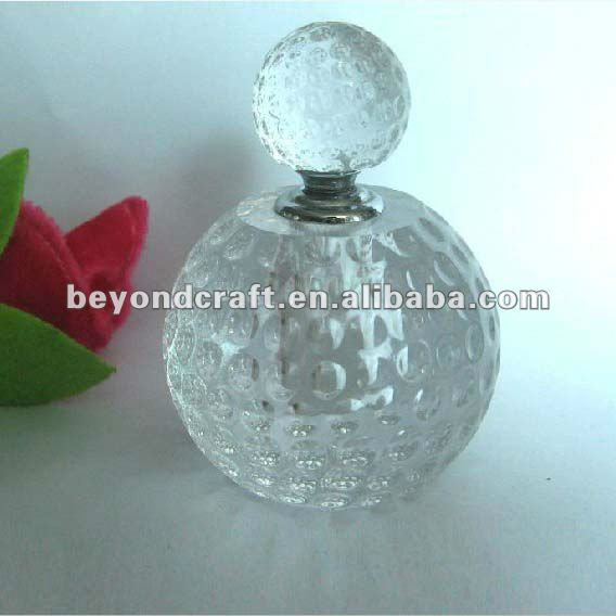 Crystal golf design perfume bottle,crystal golf souvenir gifts