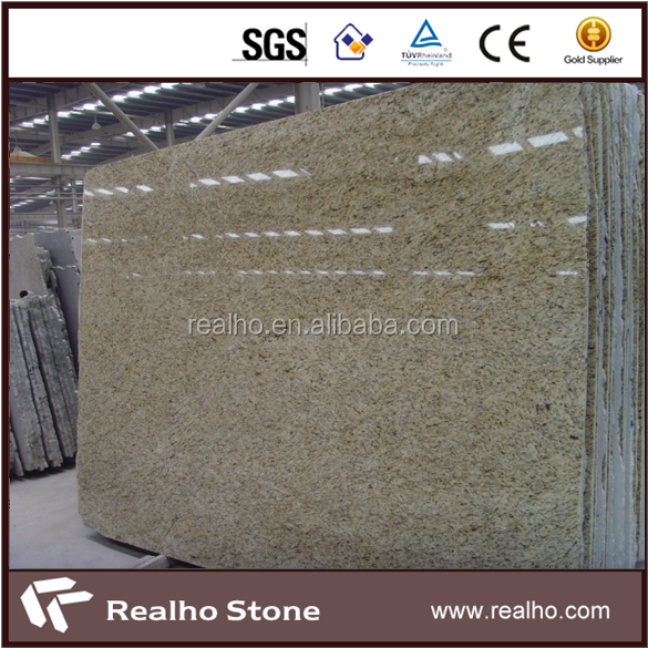Brazilian New Venetian Gold Granite Slabs Cost