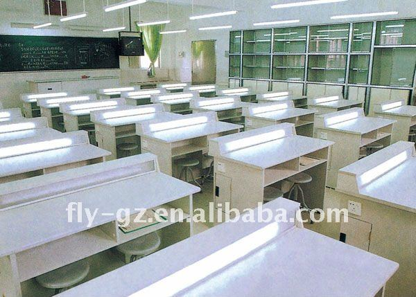 school lab table/physical laboratory desk/lab furniture