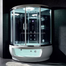 Luxury Sanitary Ware Hot Sale Whirlpool Tub Steam Shower Enclosure for 2 Person (DQ-F8886)