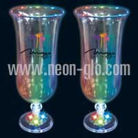 Light Up 16oz Hurricane Glass
