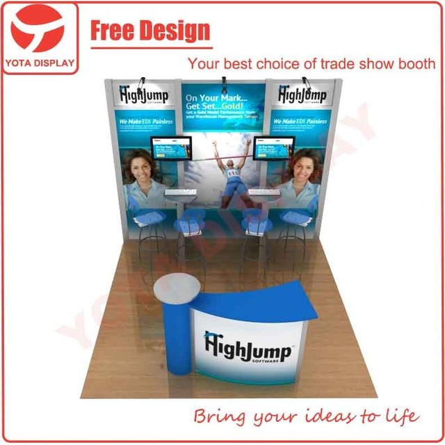 Yota offer Highjump, 10x10 tradeshow stand or exhibition stand