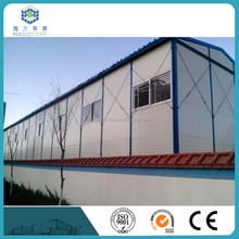 Galvanized frame prefab house quick assemble portable cabin home/kits vacational house with low cost