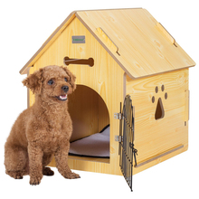 customized waterproof high quality cheap wooden dog kennel outdoor