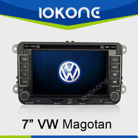"factory 7"" HD Touch screen 2 din 2005-2010 used volkswagen touareg with gps, TMC, camera, mic, dvb-t"