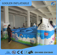 2016 giant inflatable maze for sale ,outdoor bigger maze for kids and adults