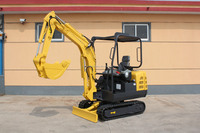 mini digger machine for garden use