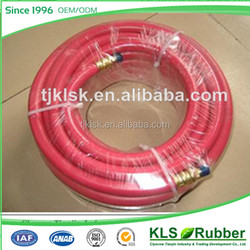 red rubber coated pipe