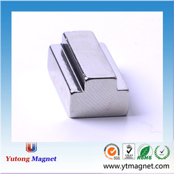 high temperature neodymium 3d magnet/Zinc magnets