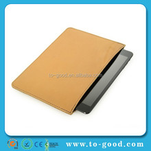 Shenzhen Factory Price Brown Luxury Real Leather Tablet+Cover+For+iPad+air+2+Case