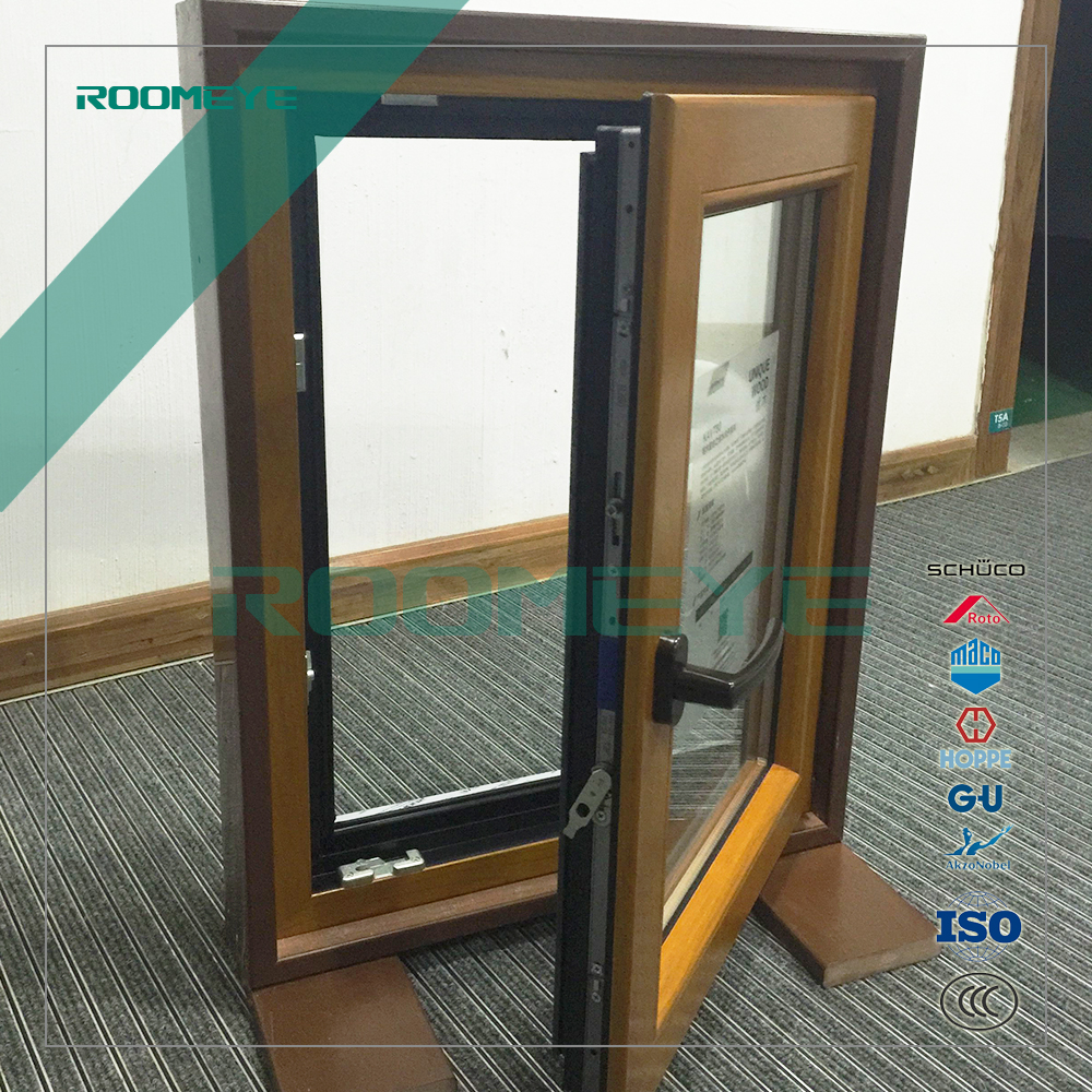 ROOMEYE window and door manufacturer CE standard aluminum swing casement window
