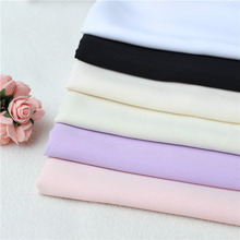2017 hot sale 100% polyester dyed crepe chiffon fabric in keqiao warehouse