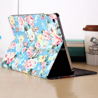 Luxury PU Leather Flower Smart Stand Case Cover for Apple iPad Air 5 4 3 2 & iPad Mini