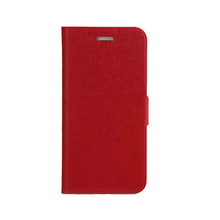 Red handmade waterproof leather case for iphone 6 on sale