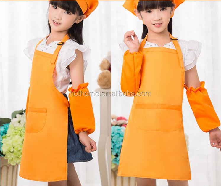 Junior Masterchef Australia Childrens Apron&Chef Hat Set Kids Cooking Cleaning Tools