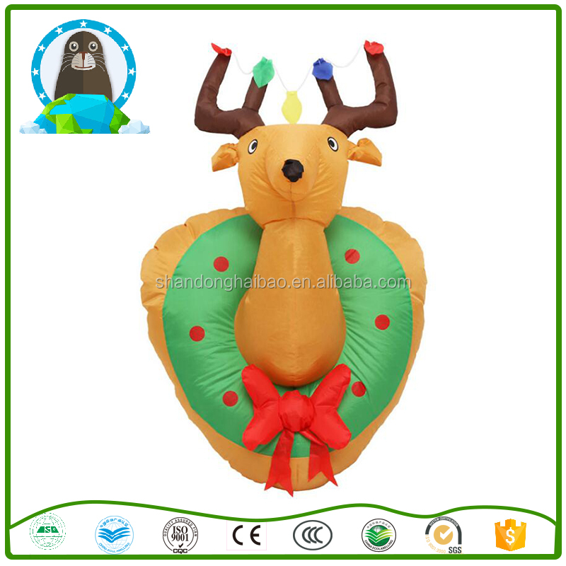 Inflatable Christmas decorations Inflatable Christmas Reindeer