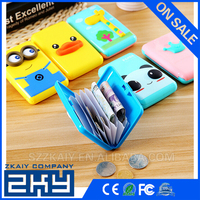 Plastic Box Design Card Cover Bus Bank ID Card Case Holder Creative Zakka Stationery Office School Supplies