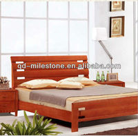 wood furniture double bed designs in wood