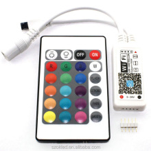 RGB Magic Home Wifi LED RGB Controller DC12V Mini Wifi + 24 Key IR Remote Controller for RGB LED Strip