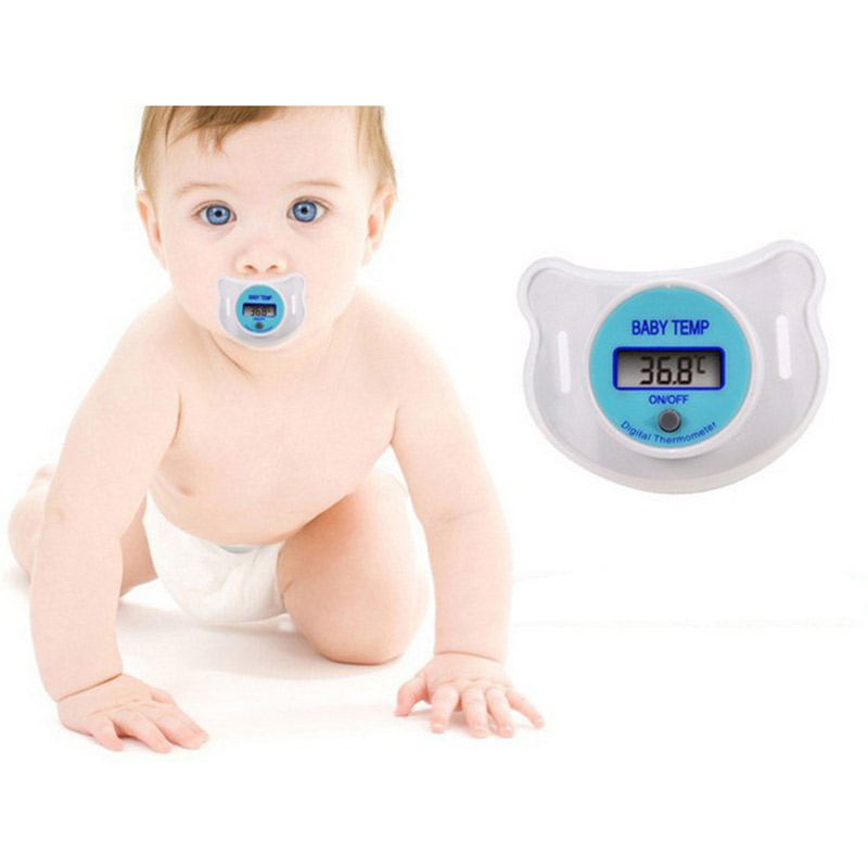 Baby pacifier type thermometer electronic household thermometer MT105351