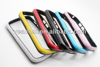 Double Colors TPU Bumper Frame Case Skin Cover for BlackBerry Q10 BB10 Bumper Case