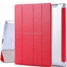Factory Hand Made Ultra Thin Slim Leather Smart Cover Case for IPAD 2 3 4